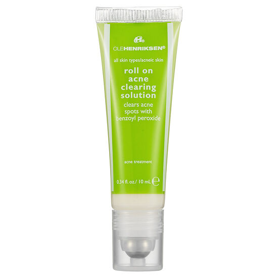roll-on acne clearing solution,
