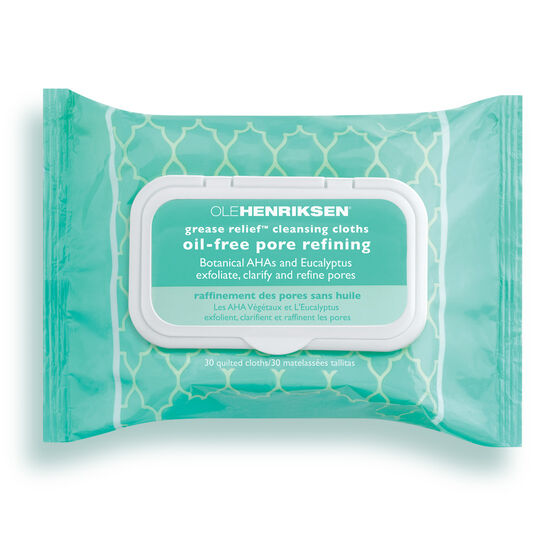 grease relief™ cleansing cloths,