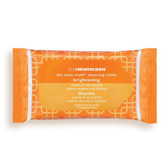 the clean truth™ cleansing cloths,