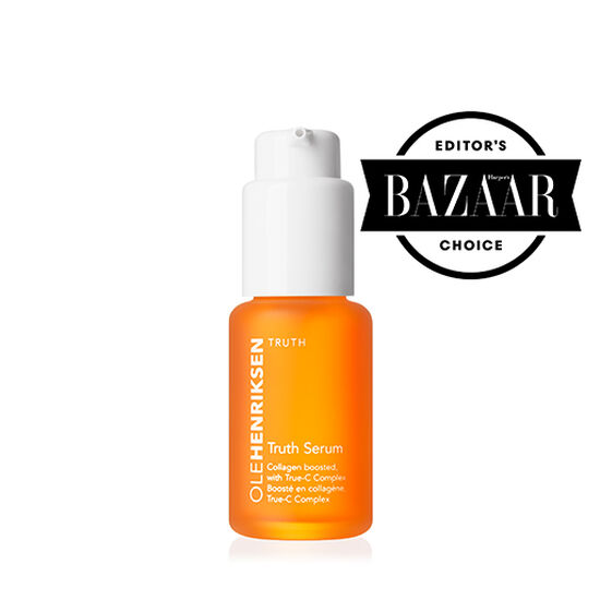 Product image of Truth Serum in an orange bottle.