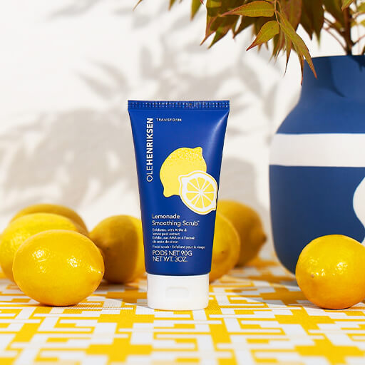 JUST LAUNCHED: LEMONADE SMOOTHING SCRUB